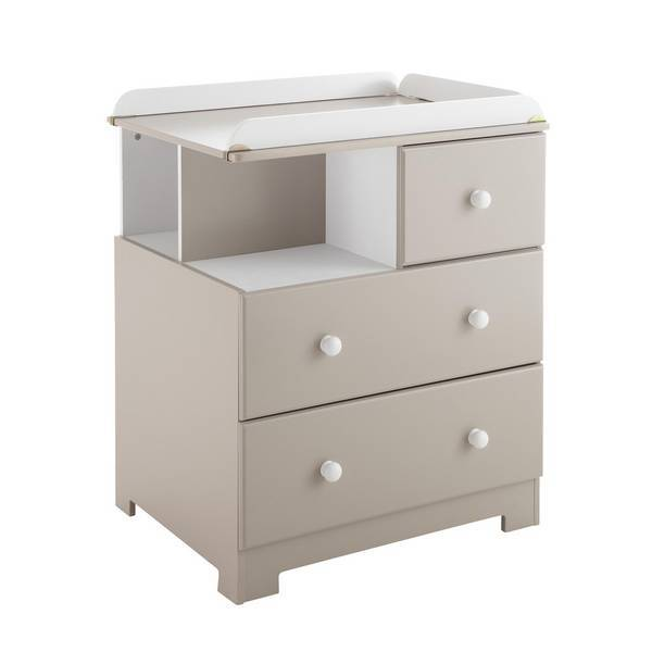 Domiva - Commode à langer Bali Taupe