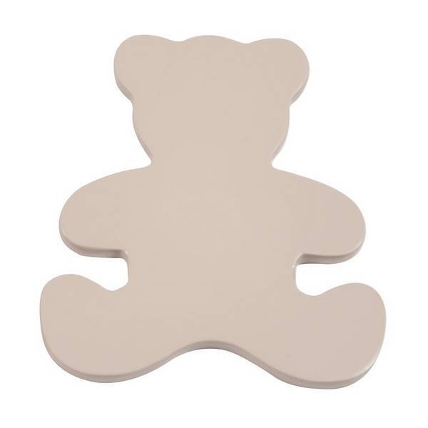 Domiva - Kit ourson + boutons Taupe pour commode Acapulco