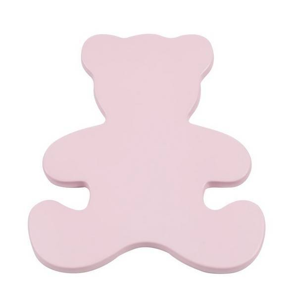 Domiva - Kit ourson + boutons Rose pour commode Acapulco