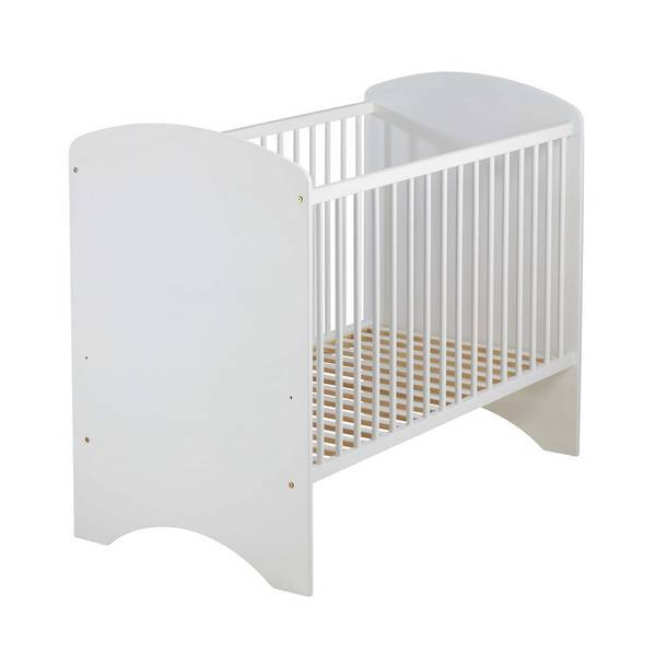 Domiva - Lit bébé Sweety 120x60cm Blanc