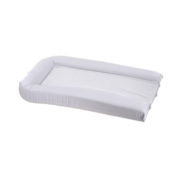 Doux Nid - Matelas langer PVC + 2 éponges amovibles 42x70cm Blanc