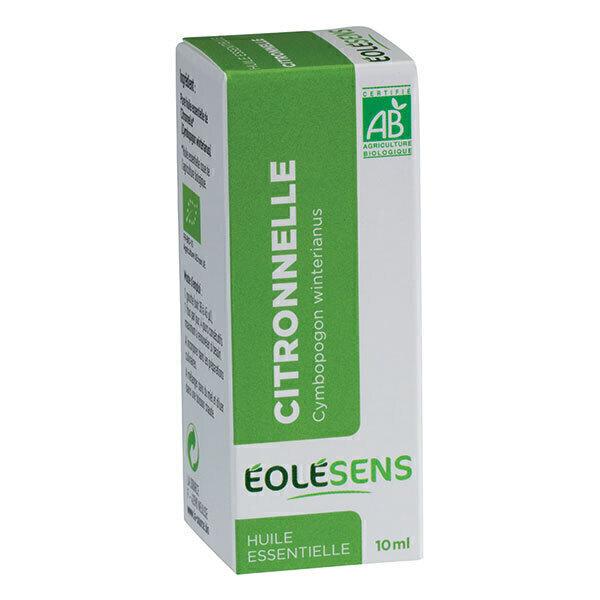 Eolesens - Huile essentielle Citronnelle bio - 10 mL