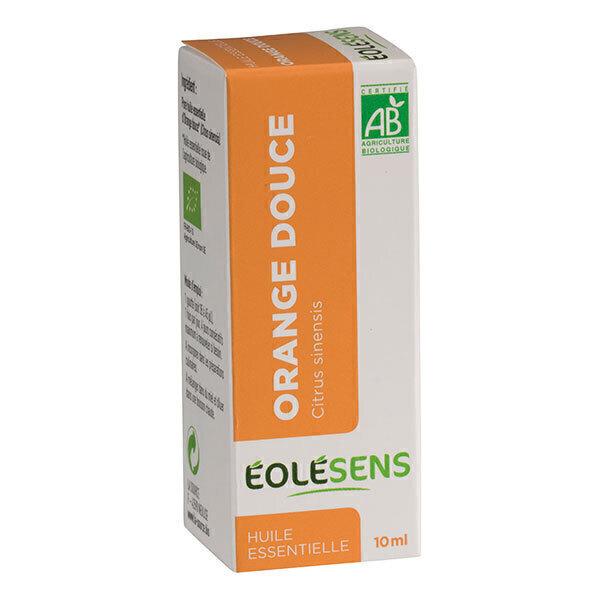Eolesens - Huile essentielle Orange douce bio - 10 mL