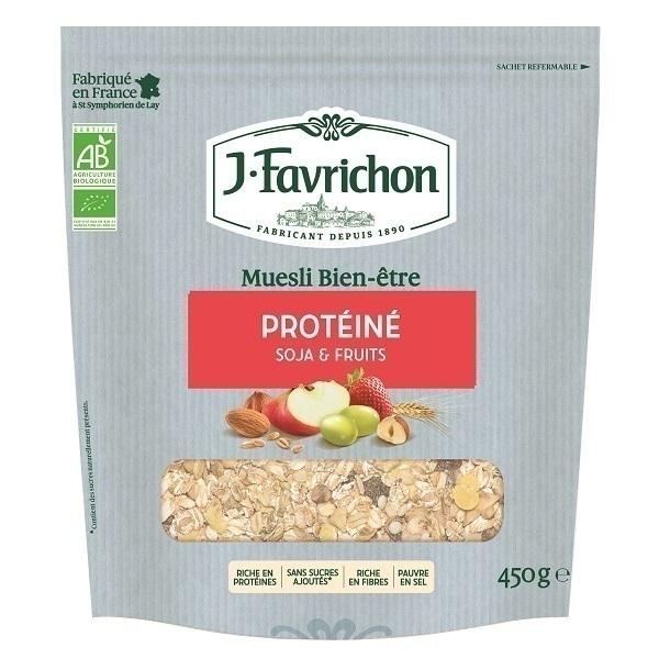 Favrichon - Muesli bien-être protéiné 450g