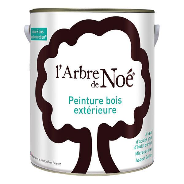 peinture bois ext rieure gris alu l 39 arbre de no. Black Bedroom Furniture Sets. Home Design Ideas