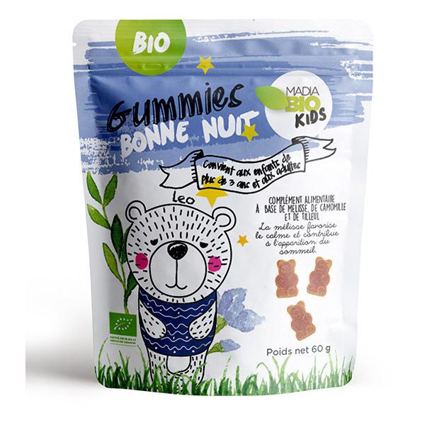 Madia Bio Kids - Gummies bonne nuit bio 60gr