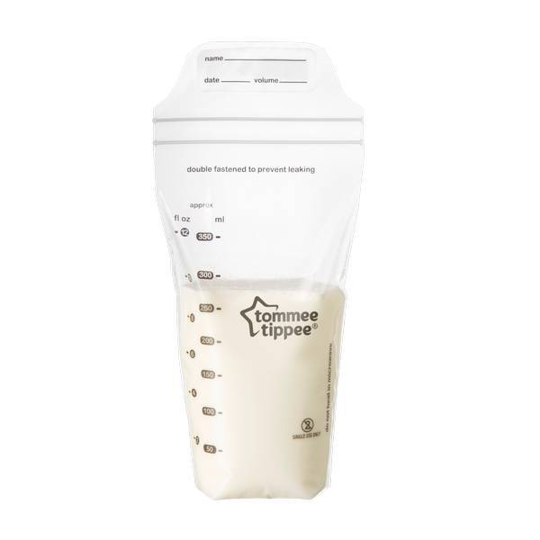 Tommee Tippee - 36 sachets conservation du lait maternel