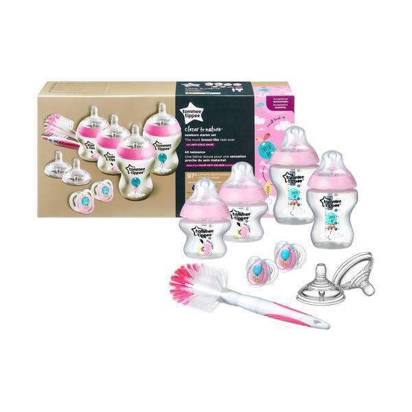 Tommee Tippee - Starter kit naissance Fille 0mois+ Rose