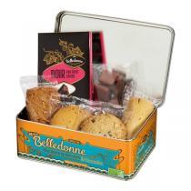 Belledonne - Boîte Collector - Chocolats et biscuits bio - 275 g