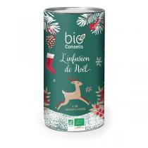 Bio Conseils - Infusion de Noël Bio - Boîte Edition Spéciale x 30 infusettes