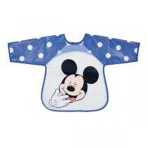 Disney Baby - Bavoir tablier bleu - Mickey - 18 mois +