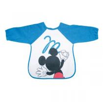 Disney Baby - Bavoir tablier bleu - M is for mouse - 18 mois +