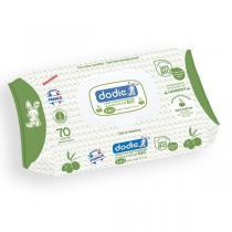 Dodie - Lingettes nettoyantes à l'huile d'olive bio 3en1 x70
