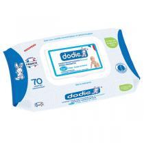 Dodie - Lingettes nettoyantes dermo-apaisantes douceur 3en1 x70