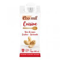 EcoMil - Préparation cuisine Noix de cajou sans sucres 200mL