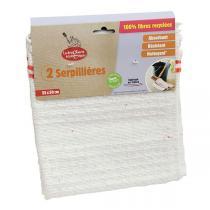 La Droguerie écologique - 2 serpillières recyclées