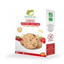 Nature & Cie - Cookies Fruits Rouges / Chocolat Blanc - 150g