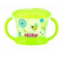 Nuby - Boîte à biscuits Designer Series - Vert - 12mois+