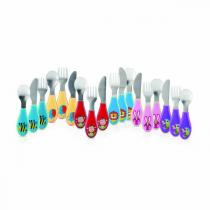 Nuby - Couverts inoxydables - 12mois+
