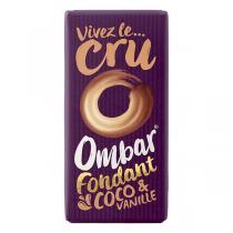 Ombar - Chocolat fondant coco-vanille bio - 35 g