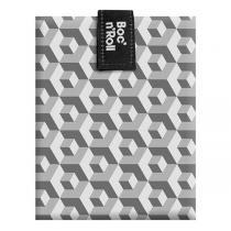 Roll'eat - Emballage sandwich Boc'n'Roll Tiles Noir