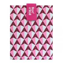 Roll'eat - Emballage sandwich Boc'n'Roll Tiles Rose