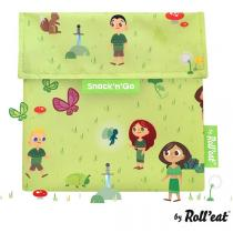 Roll Eat - Sac à gouter Snack'n'Go Kids Forest