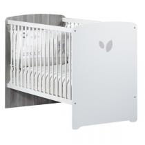 Baby Price - Lit bébé 60x120cm Leaf