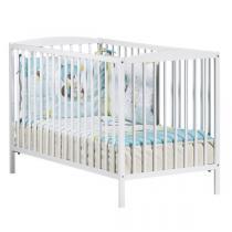 Baby Price - Lit bébé à barreaux 60x120cm Teddy - blanc