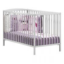 Baby Price - Lit bébé à barreaux 60x120cm Nao - Gris