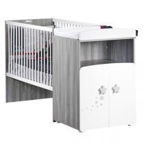 Baby Price - Lit bébé combiné évolutif 60x120cm Nao