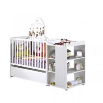 Baby Price - Lit bébé Combiné évolutif 60x120cm Pitchou