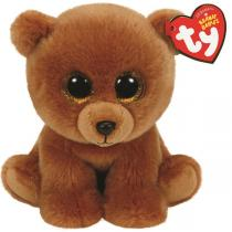 Ty - Beanies - Peluche Brownie L'ours 15 cm