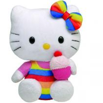 Ty - Hello Kitty - Peluche Cupcake 15 cm