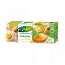 Valpibio - Madeleines citron Bio Sans gluten - 170g