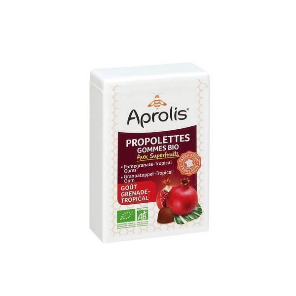 Aprolis - Propolettes Propolis Grenade-Tropical bio - 50 g