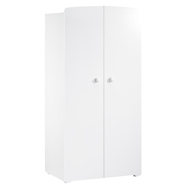 Baby Price - Armoire blanche Basic