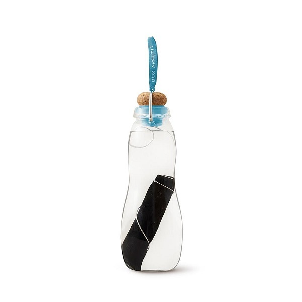 Black & Blum - Gourde filtrante Eau Good Glass Bleu 65cl