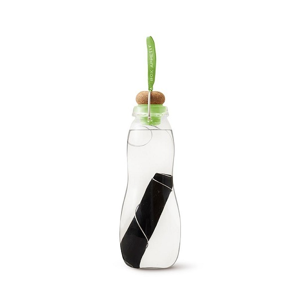 Black & Blum - Gourde filtrante Eau Good Glass Vert 65cl