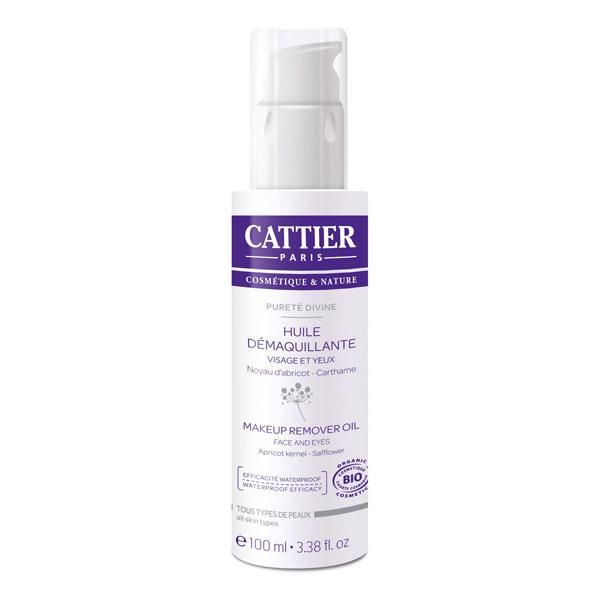 Cattier - Huile démaquillante abricot carthame 100ml