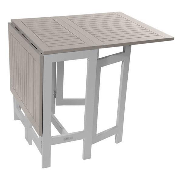 table console de jardin pliante burano 135x65x74 cm argile city green acheter sur. Black Bedroom Furniture Sets. Home Design Ideas