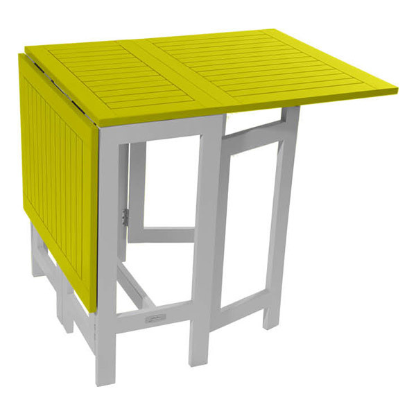 city green table console de jardin pliante burano 135x65x74 cm vert loading zoom - Table Pliante De Jardin