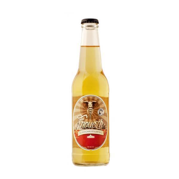 Côteaux Nantais - Jus de pommes pétillant Frouezh bio - 33 cl