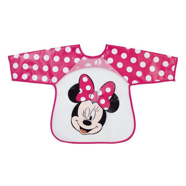 Disney Baby - Bavoir tablier rose - Minnie - 18 mois +