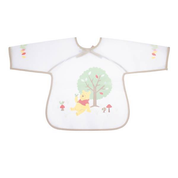 Disney Baby - Bavoir tablier marron - Winnie - 18 mois +