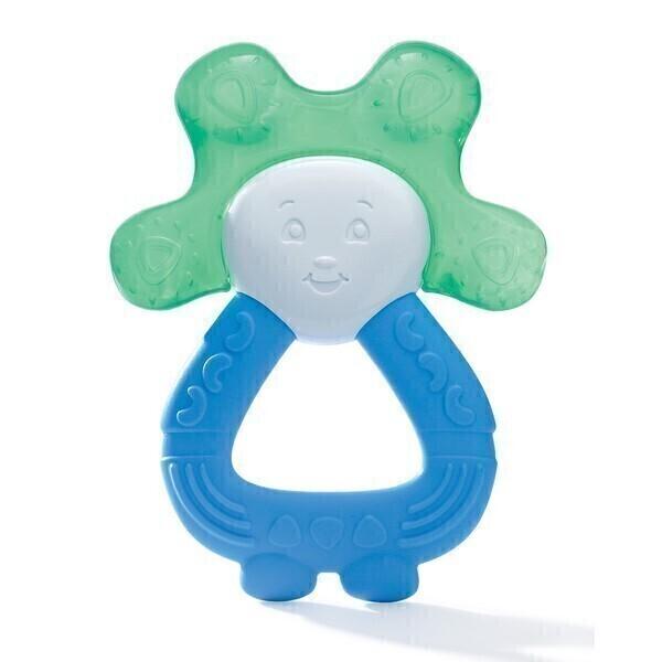 Dodie - Anneau de dentition réfrigéré 2 en 1 Bleu vert