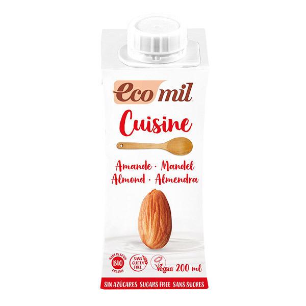 EcoMil - Préparation cuisine Amandes sans sucres 200mL