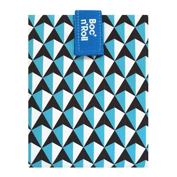 Roll'eat - Emballage sandwich Boc'n'Roll Tiles Bleu
