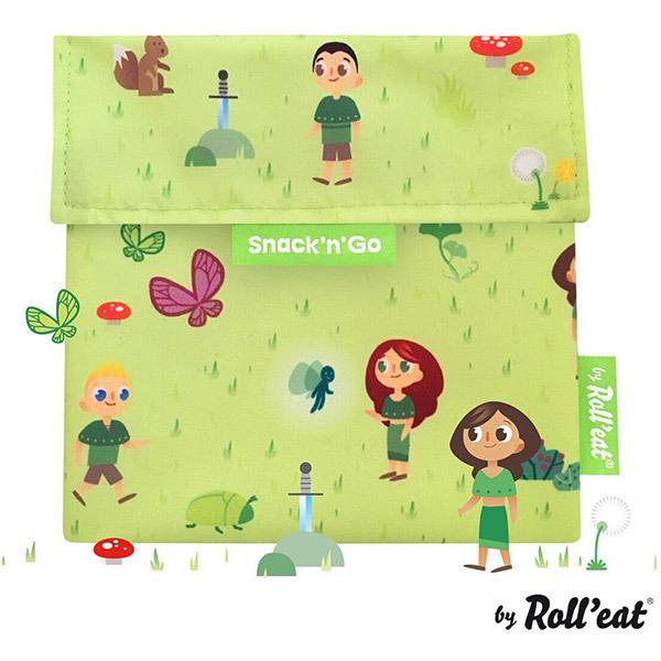 Roll'eat - Sac à goûter Snack'n'Go Kids Forest