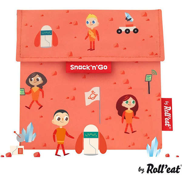 Roll Eat - Sac à gouter Snack'n'Go Kids Space